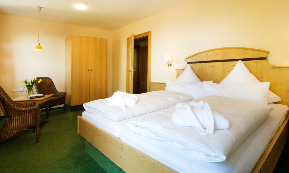 Rooms and suites in the Hotel Grobauer